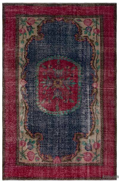 "Turkish Vintage Area Rug - 5'6"" x 8'2"" (66 in. x 98 in.)"