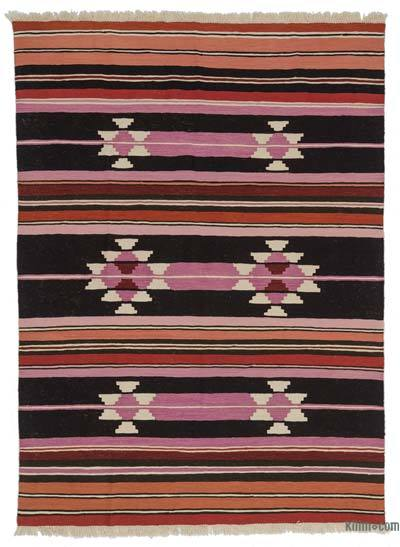 "New Turkish Kilim Rug - 5' 11"" x 8' 1"" (71 in. x 97 in.)"