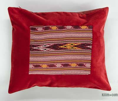 "Kilim Pillow Cover - 1' 8"" x 1' 4"" (20 in. x 16 in.)"
