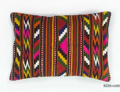 "Kilim Pillow Cover - 1' 6"" x 1' 1"" (18 in. x 13 in.)"