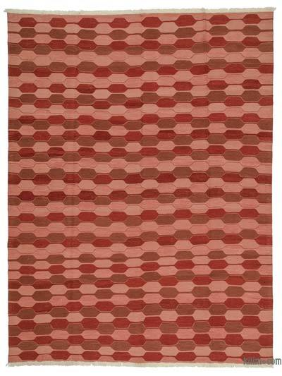 "New Handwoven Turkish Kilim Rug - 8'4"" x 10'10"" (100 in. x 130 in.)"