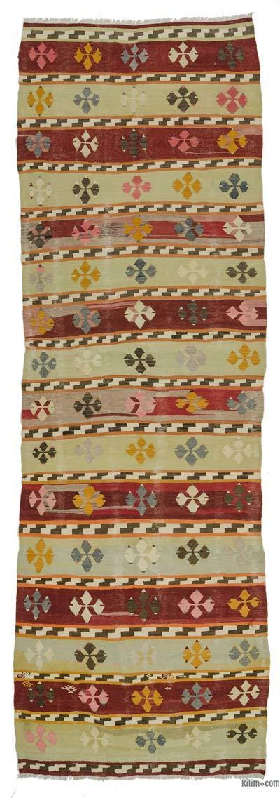 Vintage Afyon Kilim Yolluk