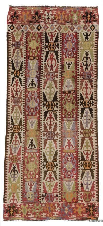 Alfombra Vintage Mut Kilim - 130 cm x 280 cm