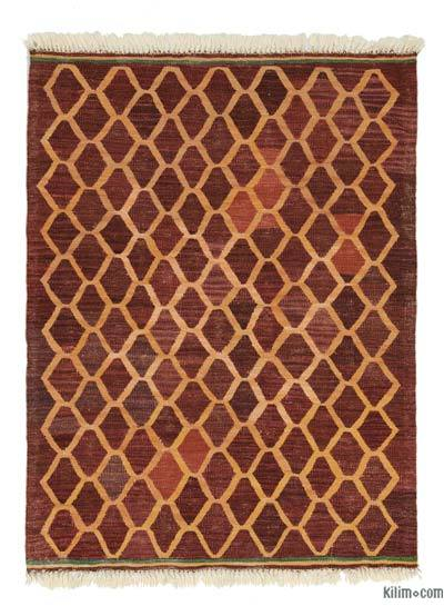 "New Handwoven Turkish Kilim Rug - 3'1"" x 4'1"" (37 in. x 49 in.)"