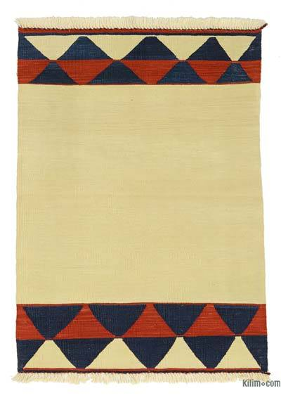 "New Handwoven Turkish Kilim Rug - 2' 11"" x 4' 2"" (35 in. x 50 in.)"