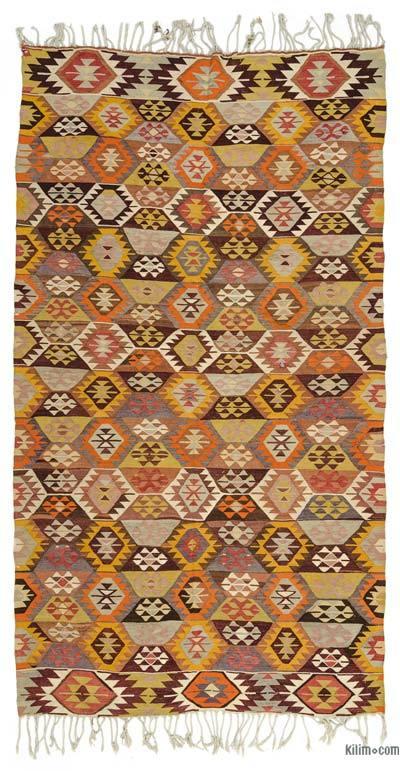 Alfombra Vintage Tavas Kilim - 185 cm x 345 cm