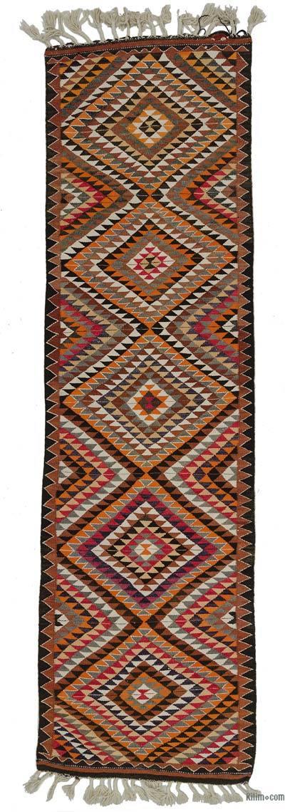Corredor Vintage Herki Kilim - 99 cm x 359 cm