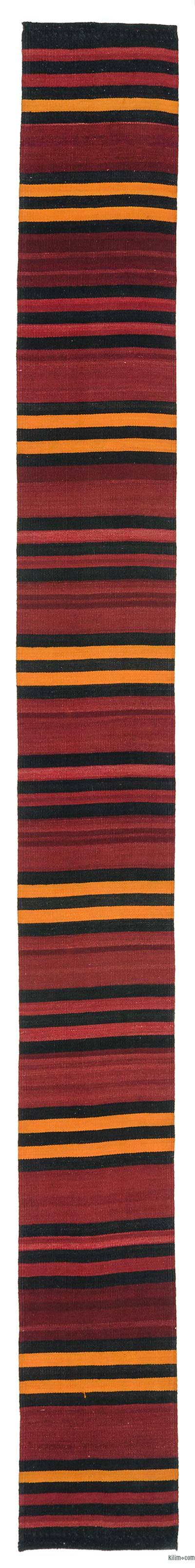 "Vintage Turkish Kilim Rug  - 1'10"" x 15'4"" (22 in. x 184 in.)"