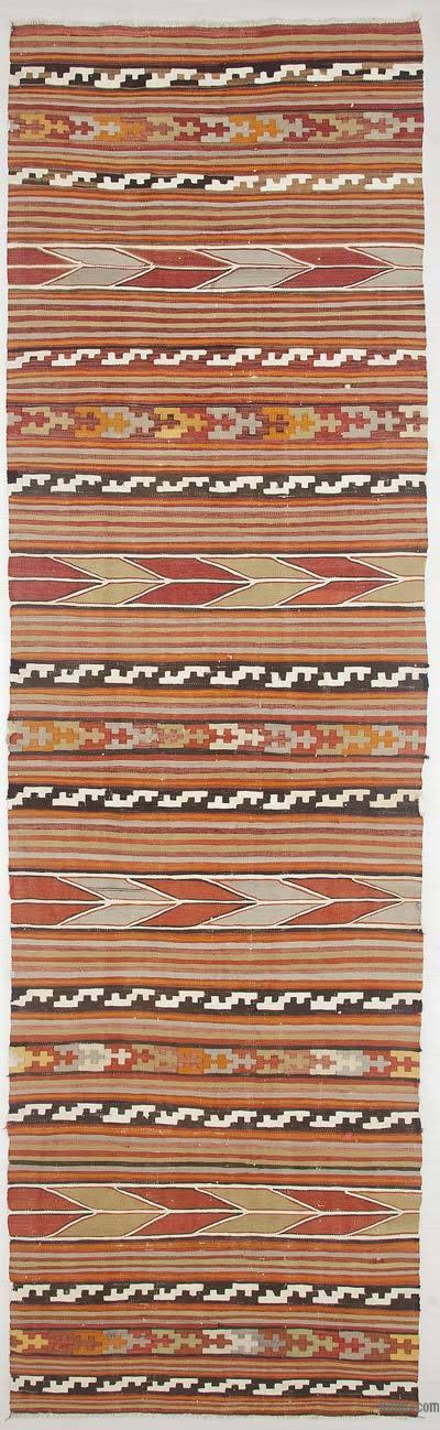 Corredor Vintage Afyon Kilim - 73 cm x 263 cm