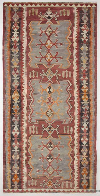 Alfombra Vintage Konya Kilim - 155 cm x 315 cm