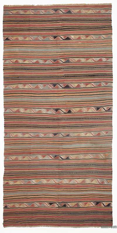 Alfombra Vintage Konya Kilim - 135 cm x 280 cm