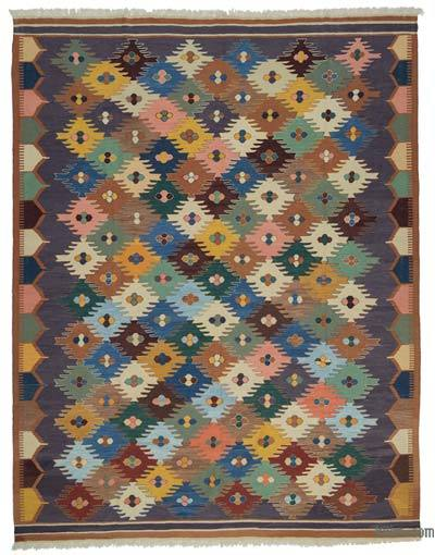 New Handwoven Turkish Kilim Rug - 10' x 13' (120 in. x 156 in.)