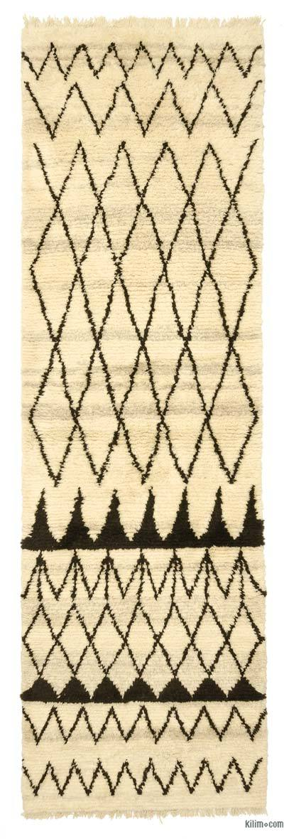 New Turkish Tulu Rug - 4' x 13' (48 in. x 156 in.)