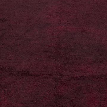 """Red Vintage Turkish Tulu Rug - 3' 8"""" x 3' 10"""" (44 in. x 46 in.) - 3' 8"""" x 3' 10"""" (44 in. x 46 in.) - K0028248"""