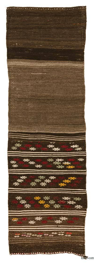 "Vintage Turkish Kilim Runner - 2' 5"" x 7' 3"" (29 in. x 87 in.)"