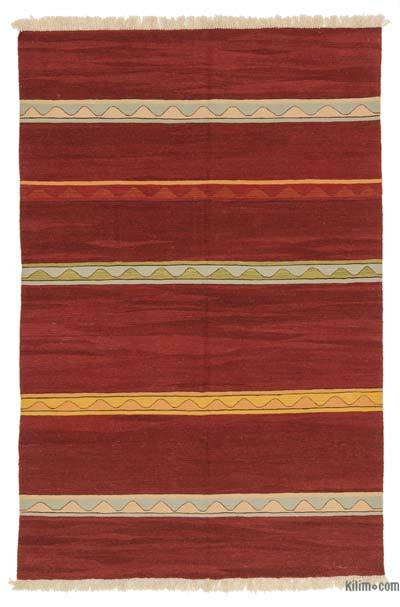"New Handwoven Turkish Kilim Rug - 5' 11"" x 8' 10"" (71 in. x 106 in.)"