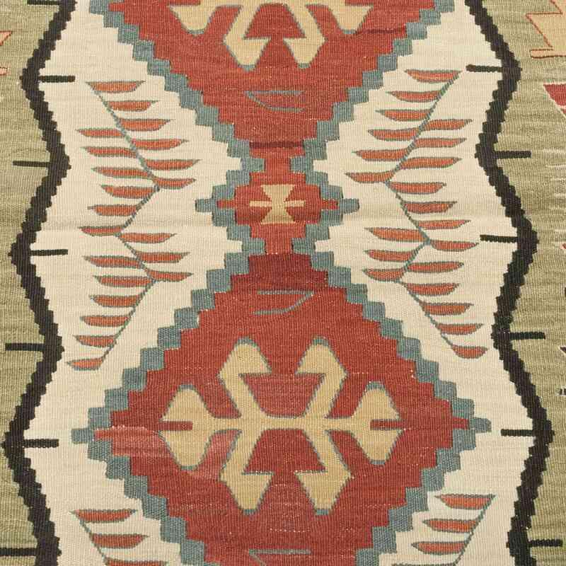 Multicolor Nueva Alfombra Turca Kilim - K0028389