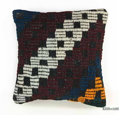 "Kilim Pillow Cover - 1'3"" x 1'4"" (15 in. x 16 in.)"