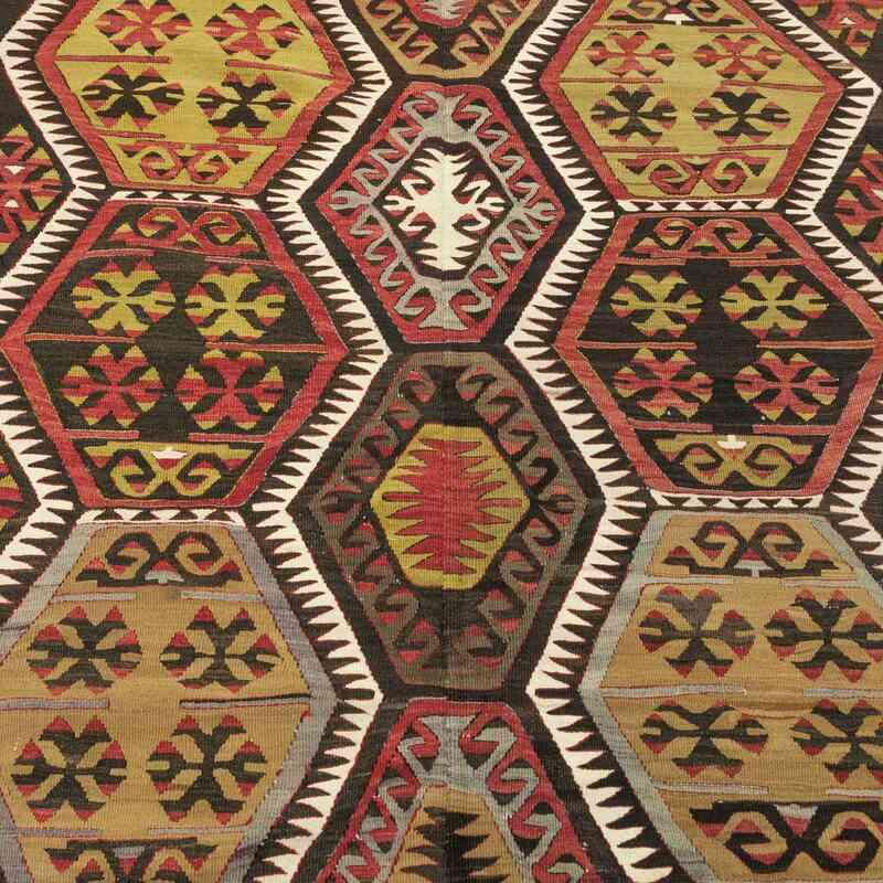 Çok Renkli Kırşehir Kilimi - 157 cm x 402 cm - K0028632