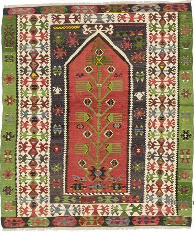 Alfombra Vintage Esme Kilim - 140 cm x 165 cm