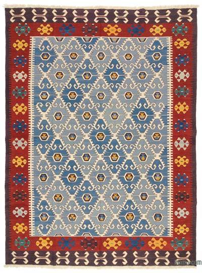 "New Handwoven Turkish Kilim Rug - 8'6"" x 11'2"" (102 in. x 134 in.)"