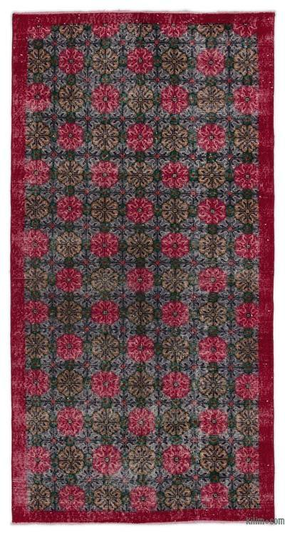 "Turkish Vintage Area Rug - 3' 7"" x 6' 11"" (43 in. x 83 in.)"