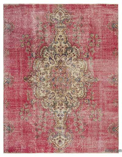 "Turkish Vintage Area Rug - 5'6"" x 7' (66 in. x 84 in.)"