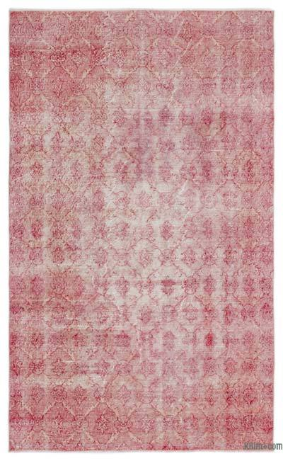 "Over-dyed Turkish Vintage Rug - 5' 1"" x 8' 6"" (61 in. x 102 in.)"