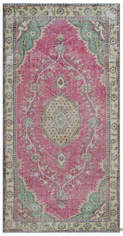 "Turkish Vintage Area Rug - 5' x 9'10"" (60 in. x 118 in.)"