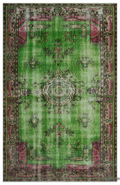 "Turkish Vintage Area Rug - 5' 11"" x 9' 3"" (71 in. x 111 in.)"