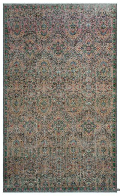 "Turkish Vintage Area Rug - 5'10"" x 9'7"" (70 in. x 115 in.)"