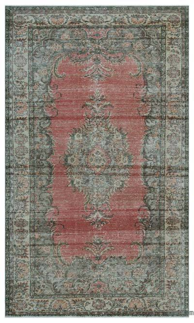 "Turkish Vintage Area Rug - 5'10"" x 10' (70 in. x 120 in.)"