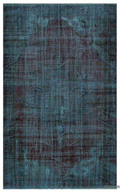"Over-dyed Turkish Vintage Rug - 6' x 9'9"" (72 in. x 117 in.)"