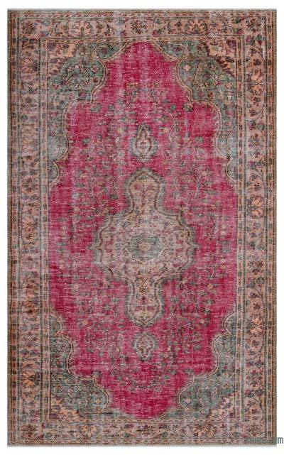 "Turkish Vintage Area Rug - 5'10"" x 9'5"" (70 in. x 113 in.)"