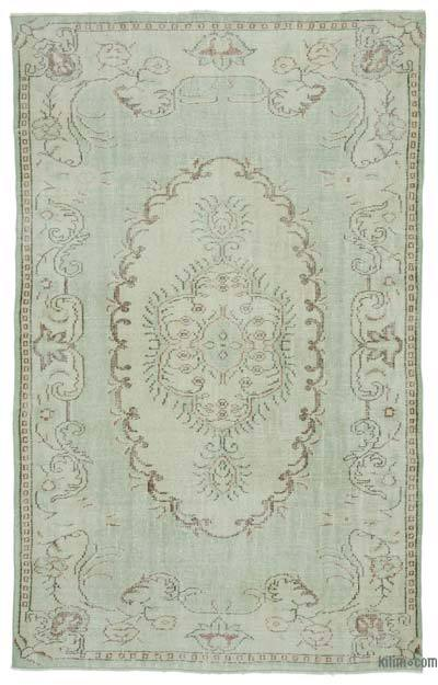 "Turkish Vintage Area Rug - 5' 7"" x 8' 11"" (67 in. x 107 in.)"