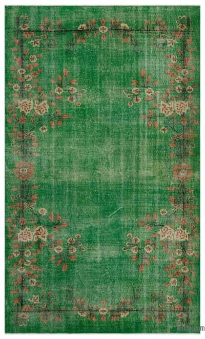"""Turkish Vintage Area Rug - 5'10"""" x 9'9"""" (70 in. x 117 in.)"""