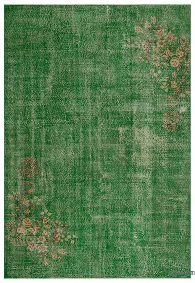 """Turkish Vintage Area Rug - 7'1"""" x 10'4"""" (85 in. x 124 in.)"""