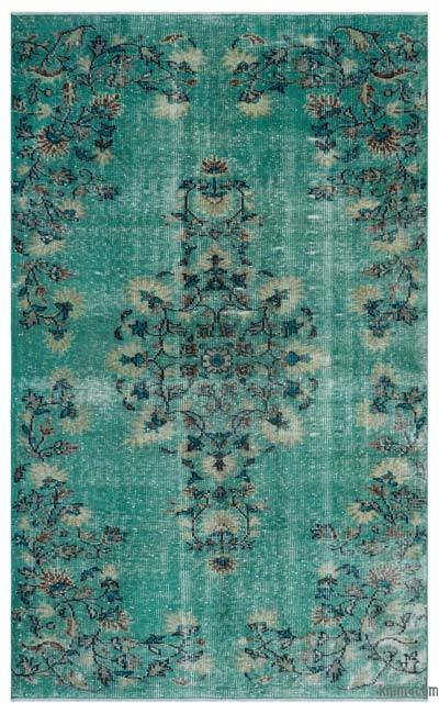 "Turkish Vintage Area Rug - 5'6"" x 9'2"" (66 in. x 110 in.)"