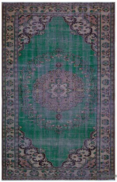"Turkish Vintage Area Rug - 6' 1"" x 9' 5"" (73 in. x 113 in.)"