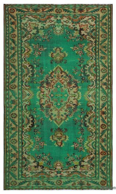 "Turkish Vintage Area Rug - 4' 10"" x 8'  (58 in. x 96 in.)"