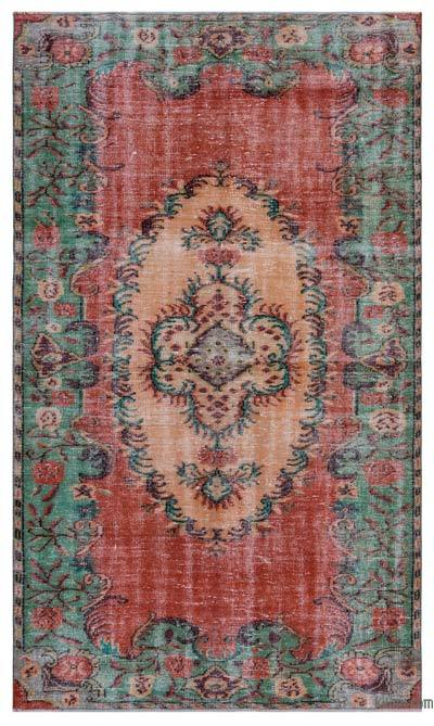 "Turkish Vintage Area Rug - 5' 5"" x 9' 5"" (65 in. x 113 in.)"