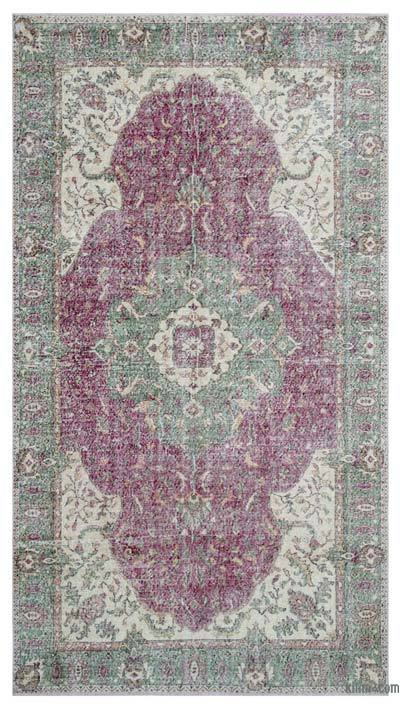 "Turkish Vintage Area Rug - 5'9"" x 10'6"" (69 in. x 126 in.)"