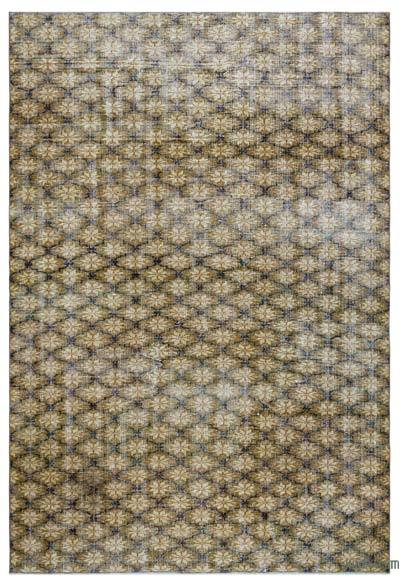 "Turkish Vintage Area Rug - 5' 7"" x 8' 4"" (67 in. x 100 in.)"
