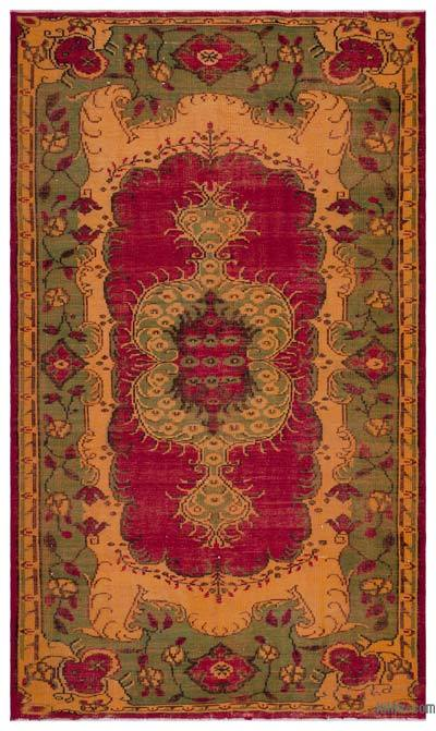 """Turkish Vintage Area Rug - 6'2"""" x 10'6"""" (74 in. x 126 in.)"""