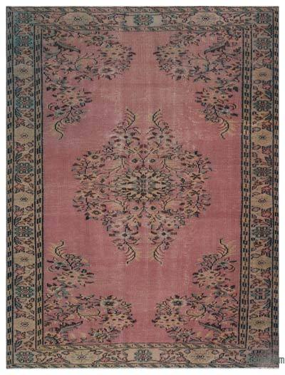 "Turkish Vintage Area Rug - 6' x 8'2"" (72 in. x 98 in.)"