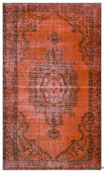"Over-dyed Turkish Vintage Rug - 5'  x 8' 5"" (60 in. x 101 in.)"