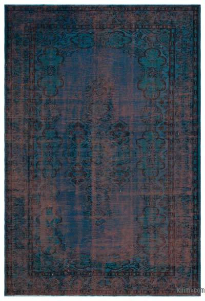 "Over-dyed Turkish Vintage Rug - 6' x 8'11"" (72 in. x 107 in.)"