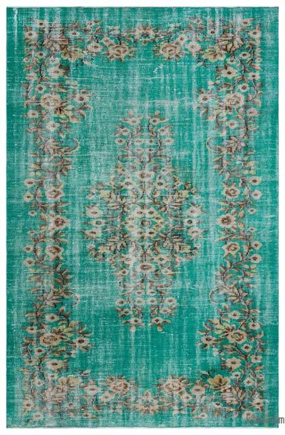 "Turkish Vintage Area Rug - 5'9"" x 8'9"" (69 in. x 105 in.)"