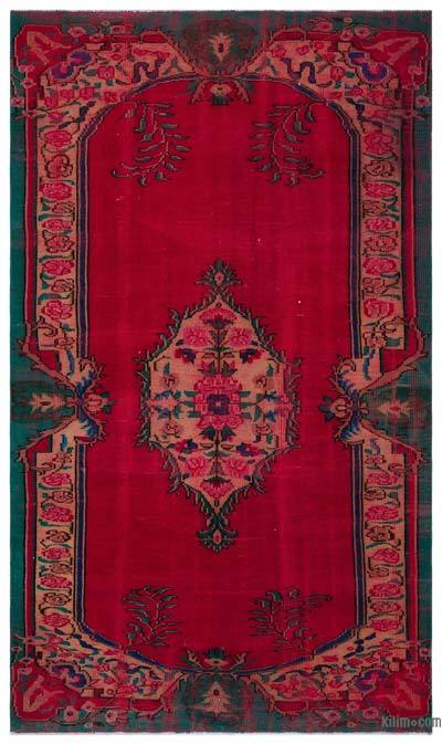 "Turkish Vintage Area Rug - 5' 10"" x 9' 8"" (70 in. x 116 in.)"