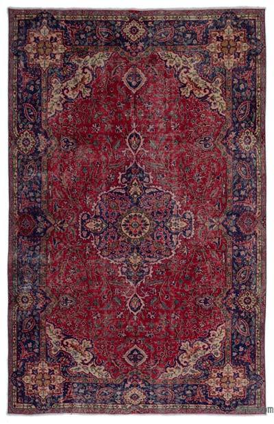 """Turkish Vintage Area Rug - 6' 3"""" x 9' 11"""" (75 in. x 119 in.)"""